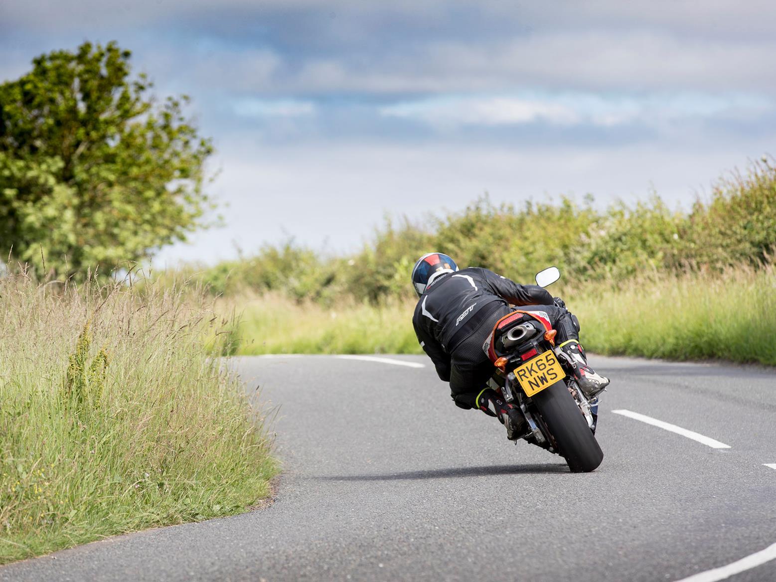 Honda CBR600RR rear