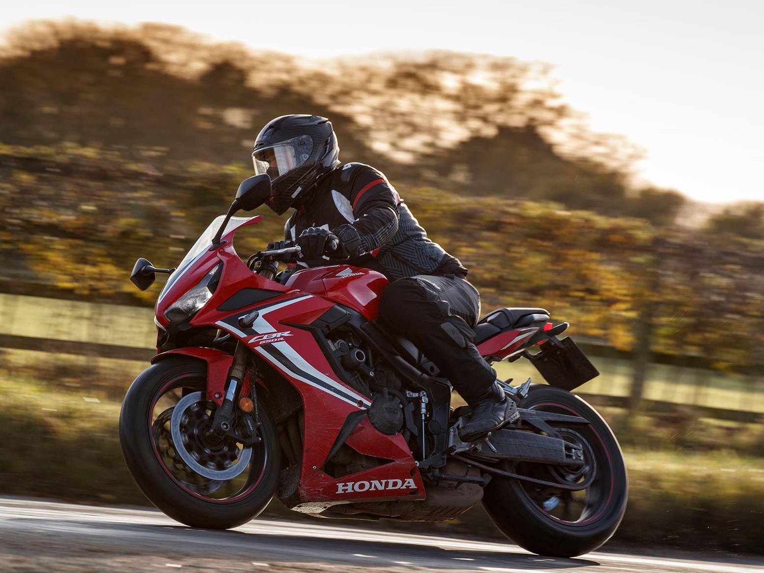 Honda CBR650R road left side