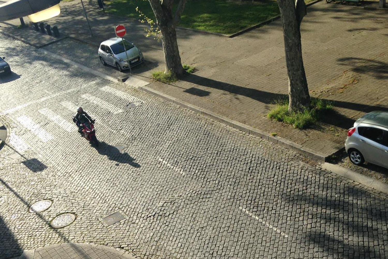 Arriving in Porto