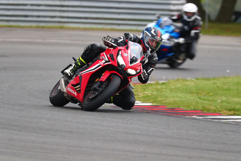 Honda CBR650R on track