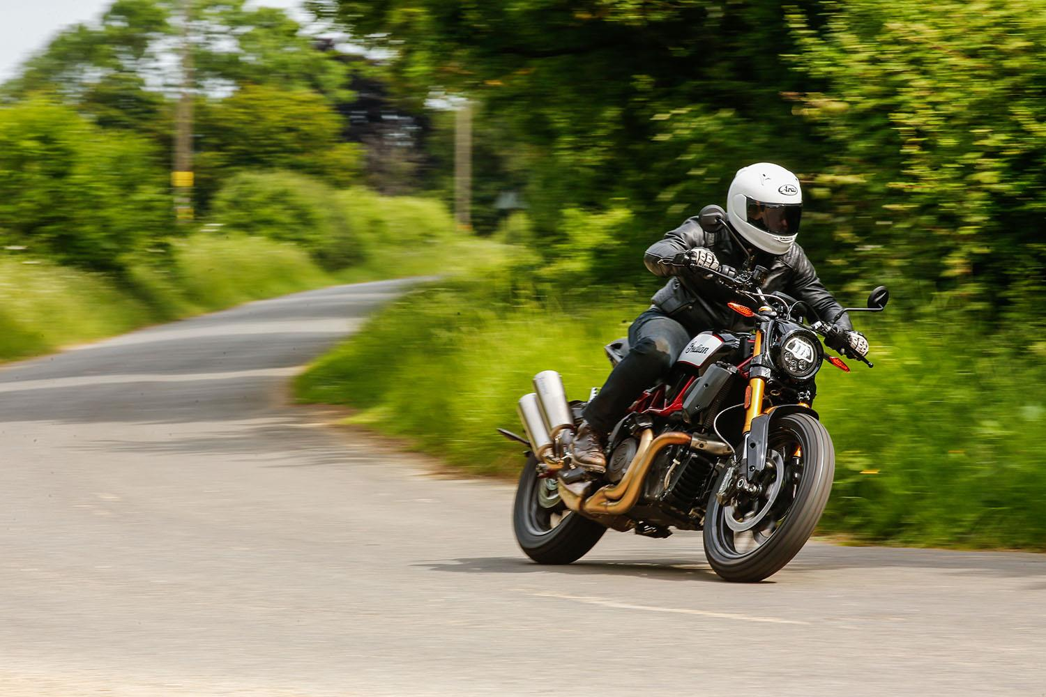 Indian FTR1200s review