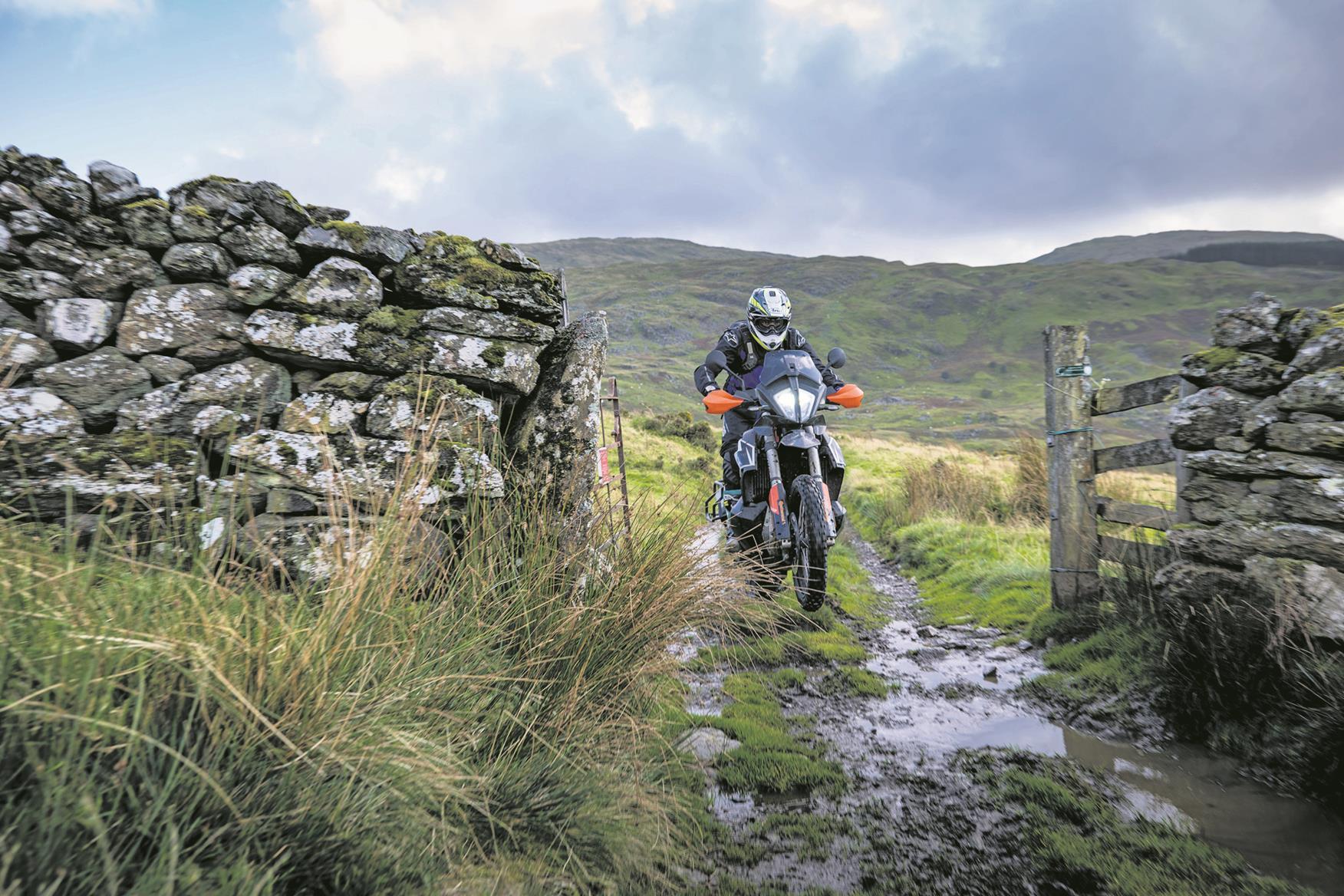 Exploring some British off-road trails