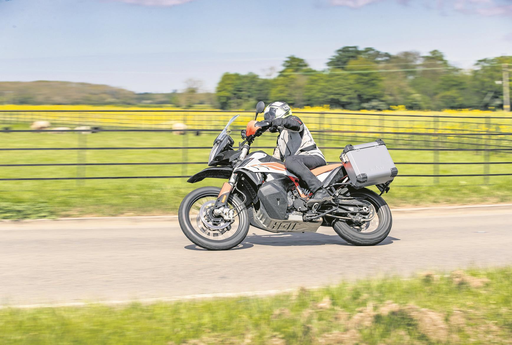 Riding the KTM 790 Adventure R