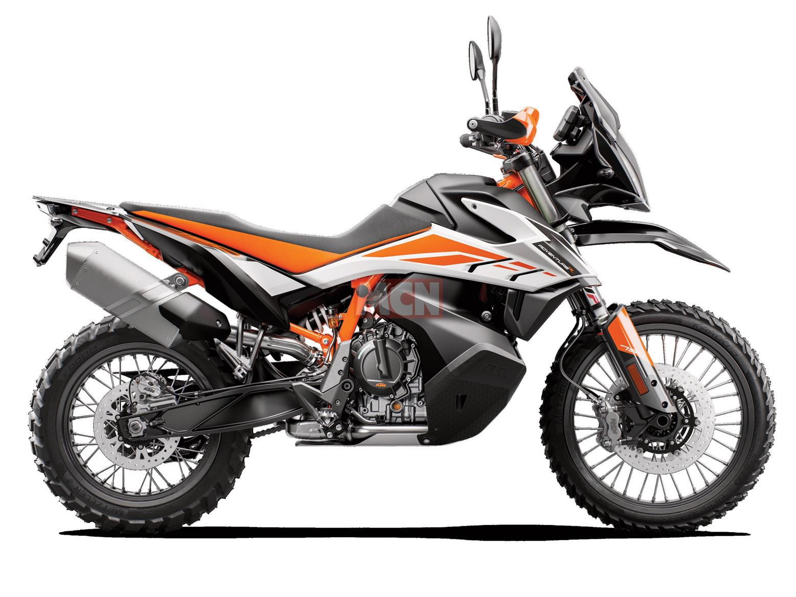KTM 790 Adventure R side-on view