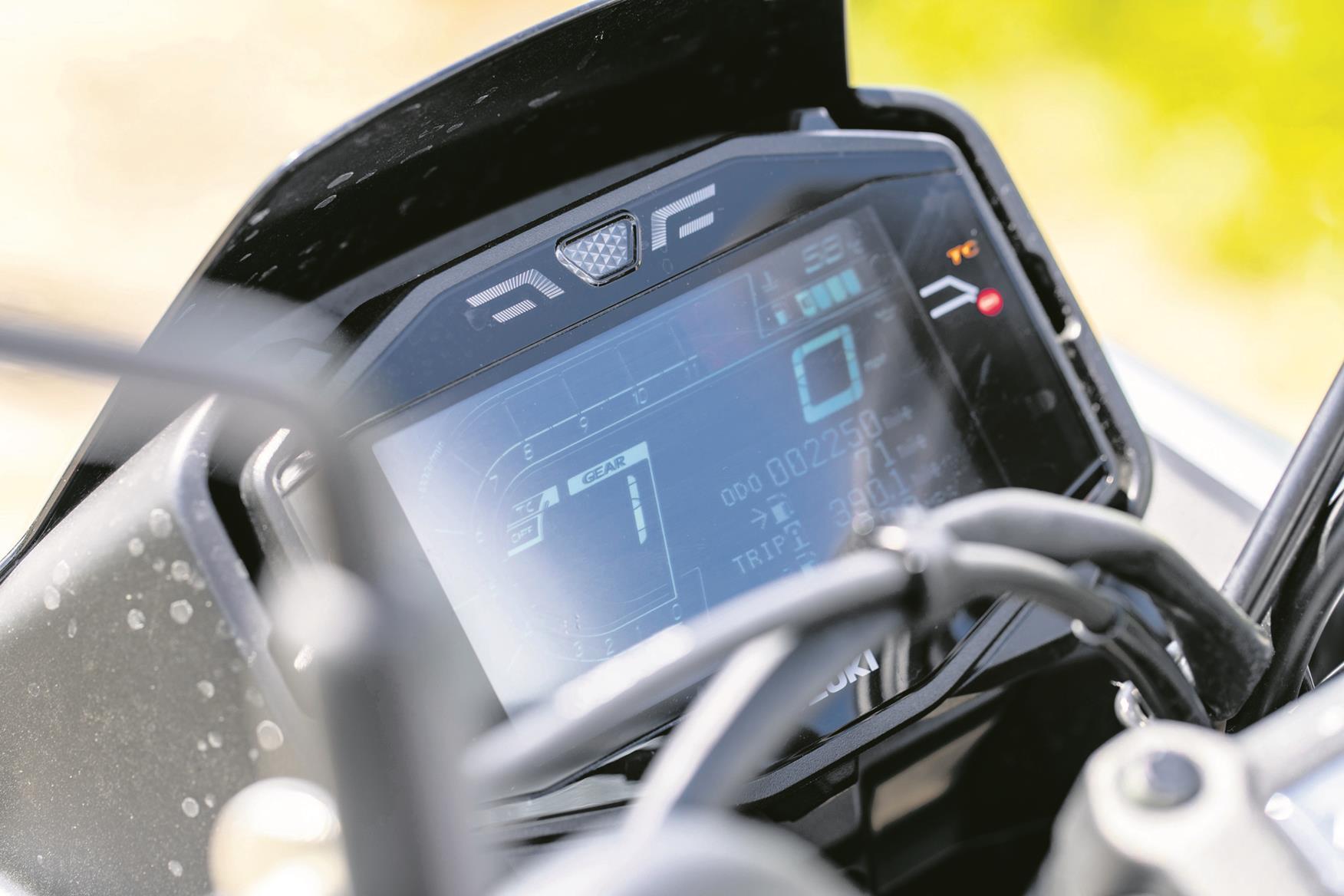 Suzuki Katana dashboard