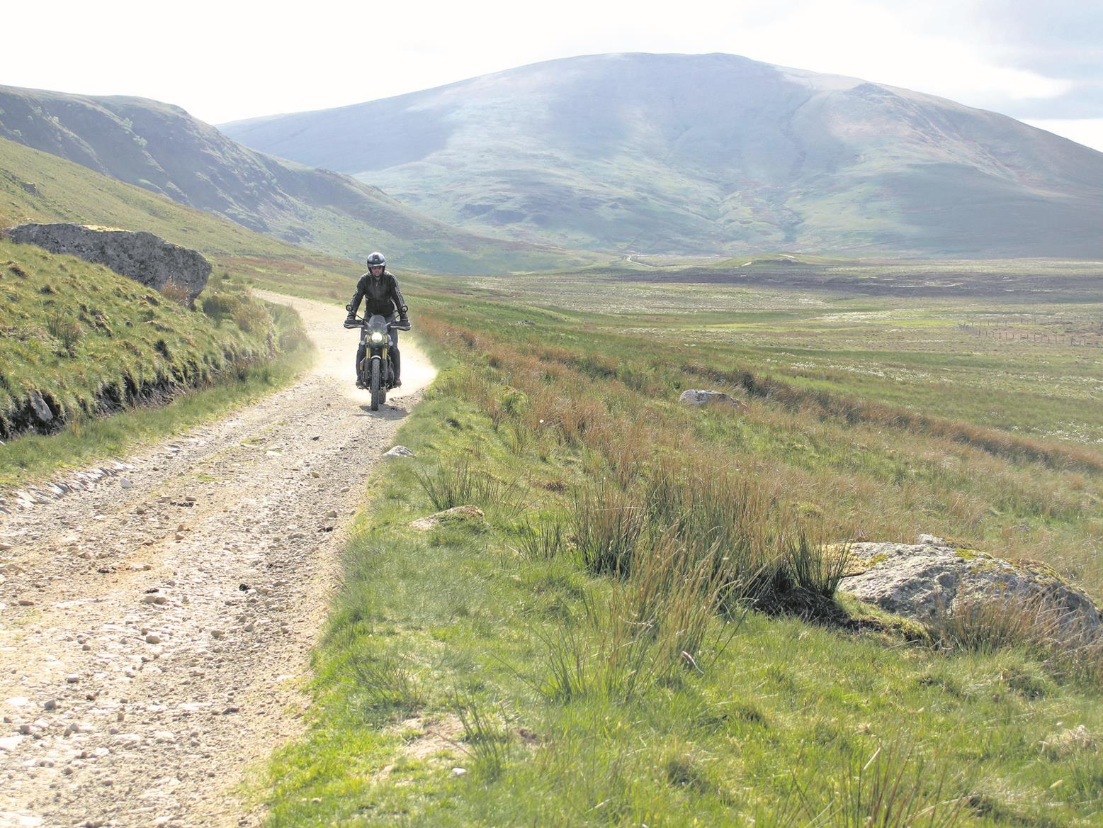 Riding the Triumph Scrambler 1200 XE off-road