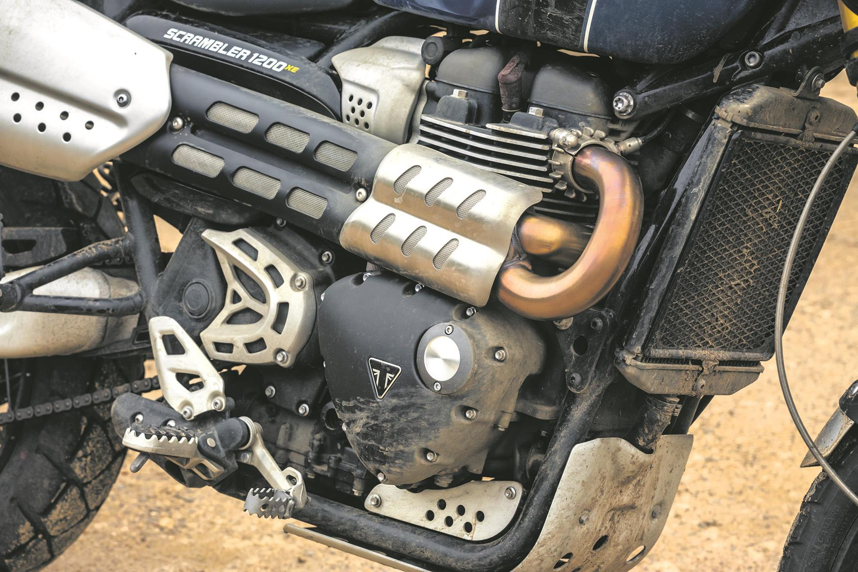 Triumph Scrambler 1200 XE exhaust