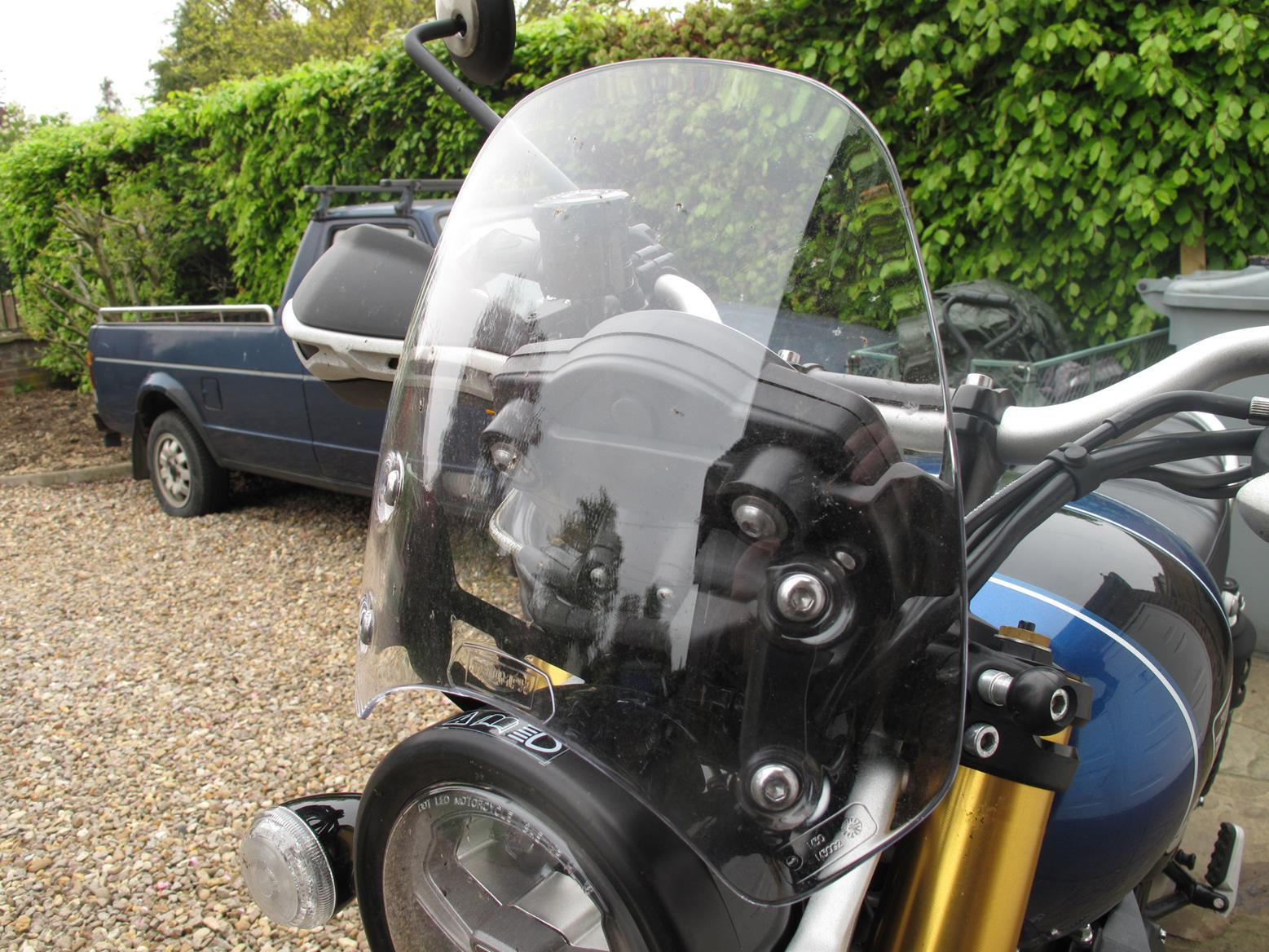 Triumph Scrambler 1200 XE screen