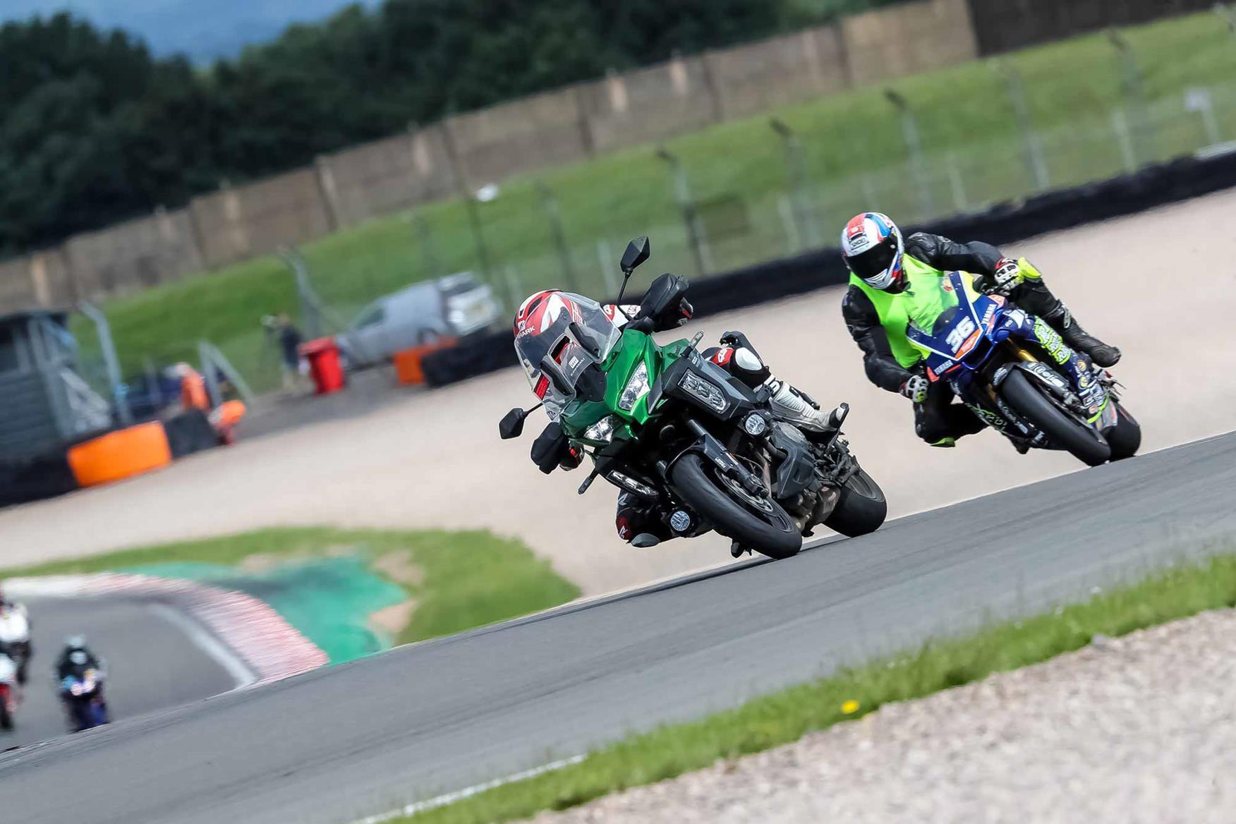 Taking the Kawasaki Versys 1000 SE through Coppice