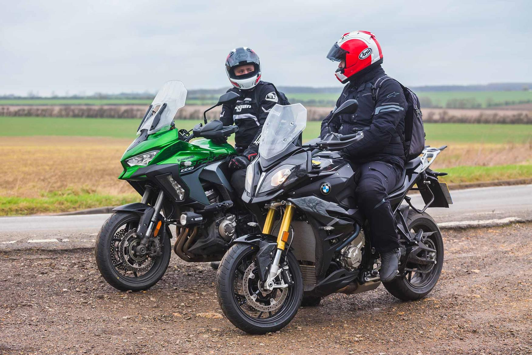Kawasaki Versys 1000 SE vs. BMW S1000XR