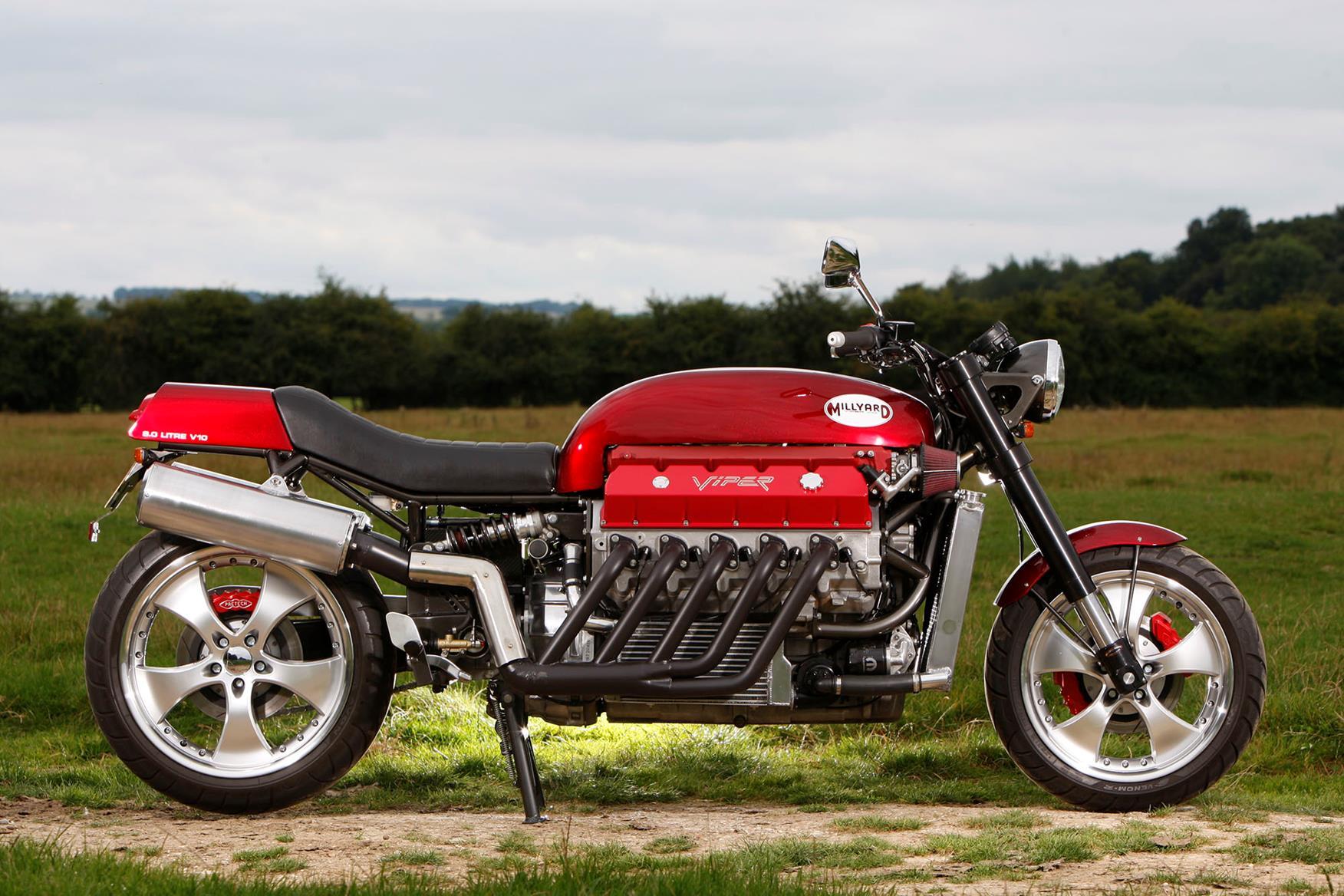 Allen Millyard V10 Viper bike