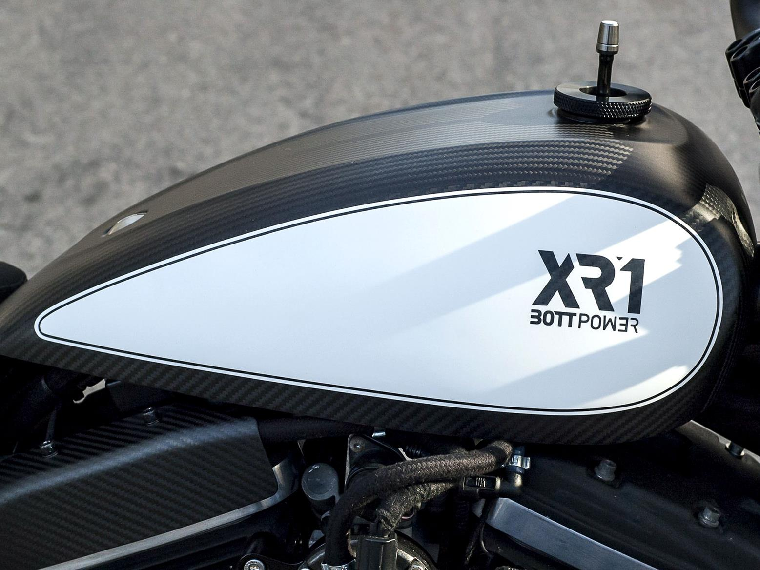 Bott Power XR1 White Carbon fuel tank