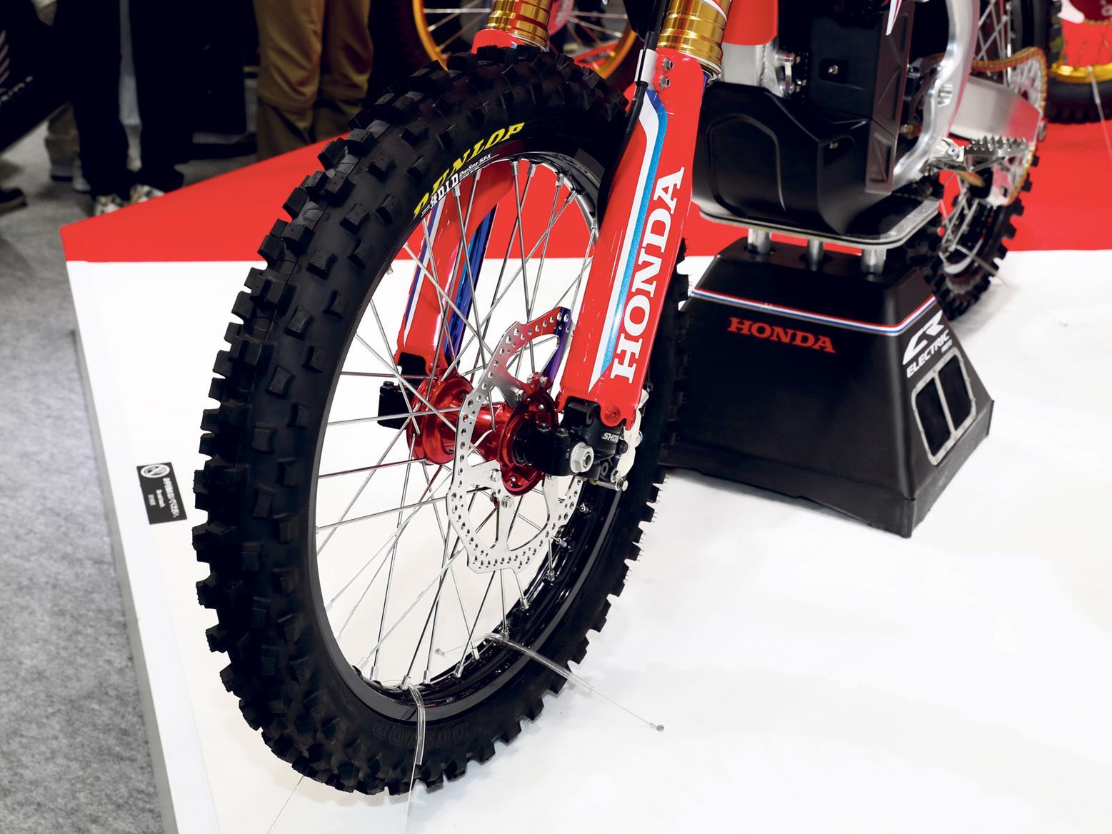 Honda CR-E electric bike forks