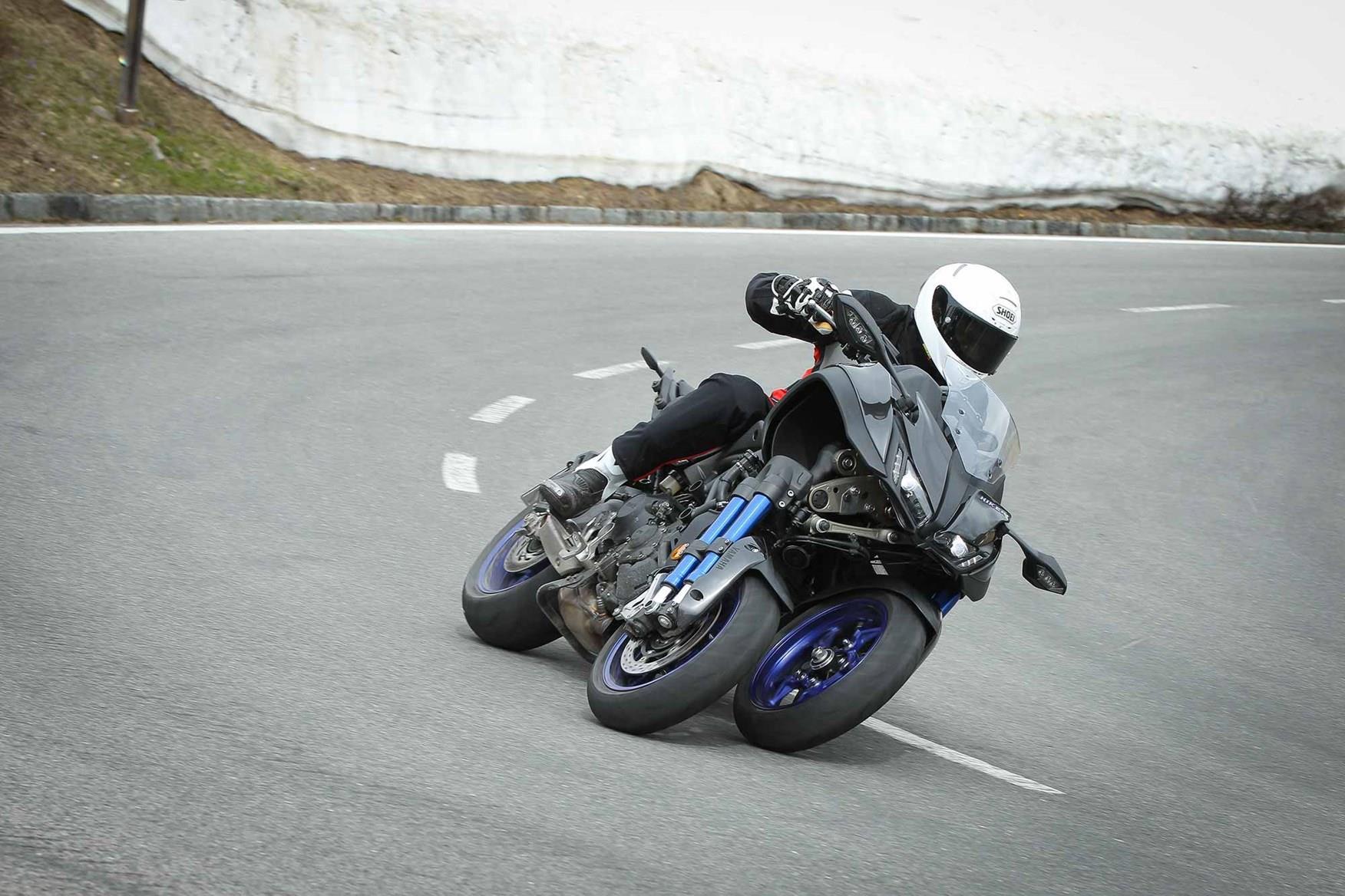 Test ride a Yamaha Niken