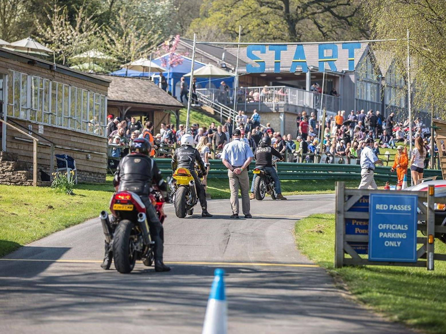 Prescott Bike Festival is held at the well-known British hillclimb venue