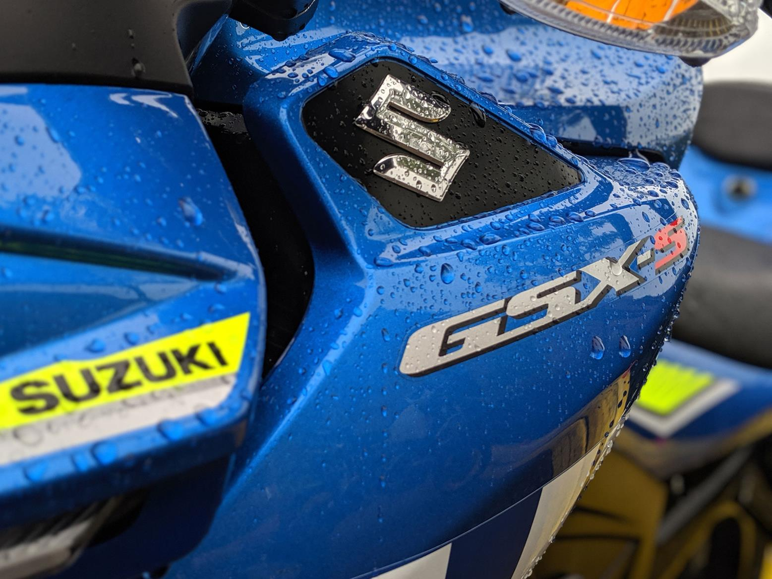 My Suzuki GSX-S125 isn't always wet - honest!