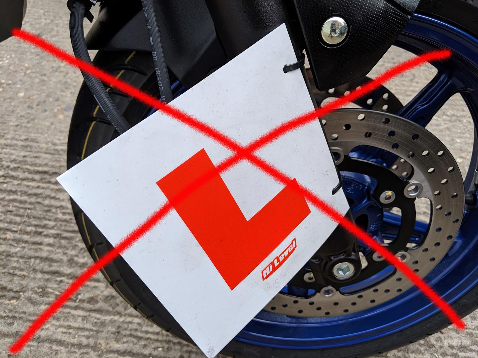 I can FINALLY get rid of the L-plates