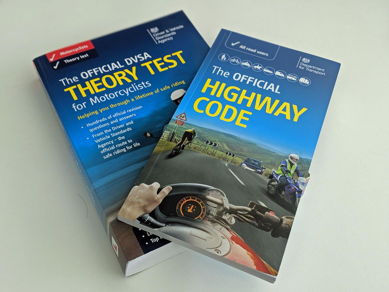 The books you need to pass the theory test