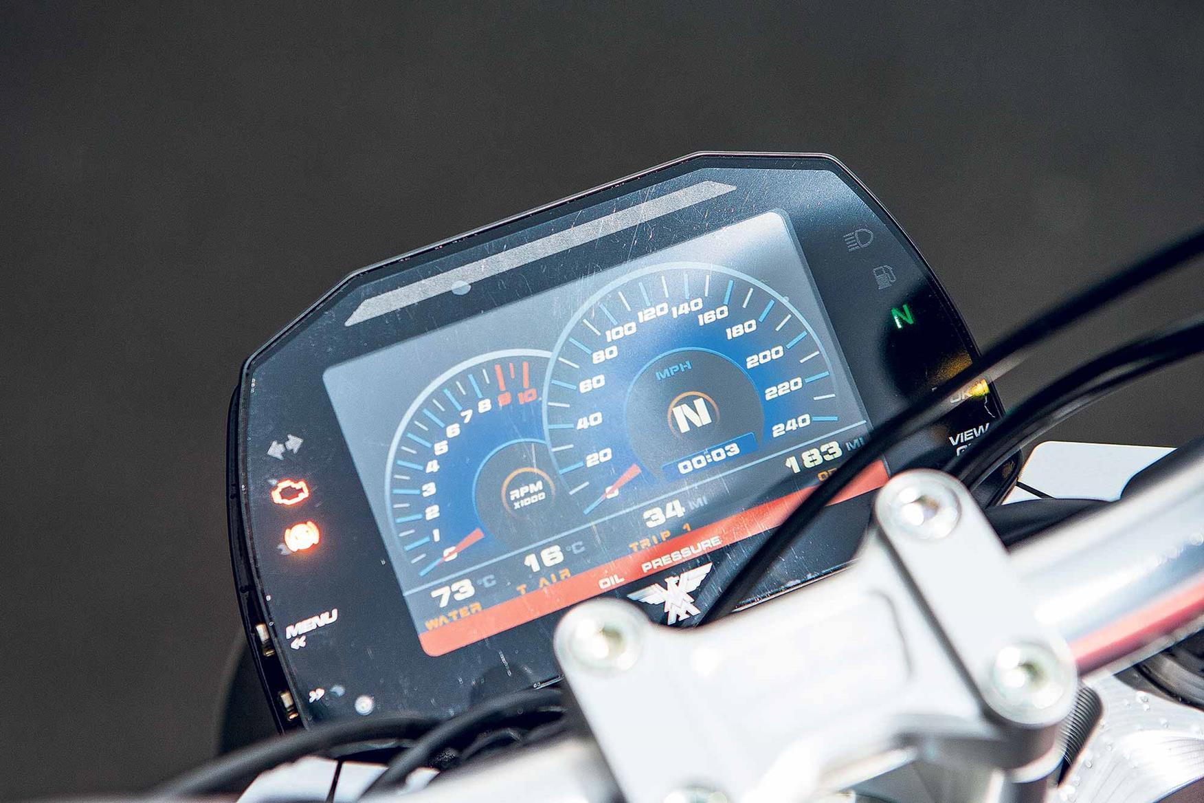 Moto Morini Milano clocks