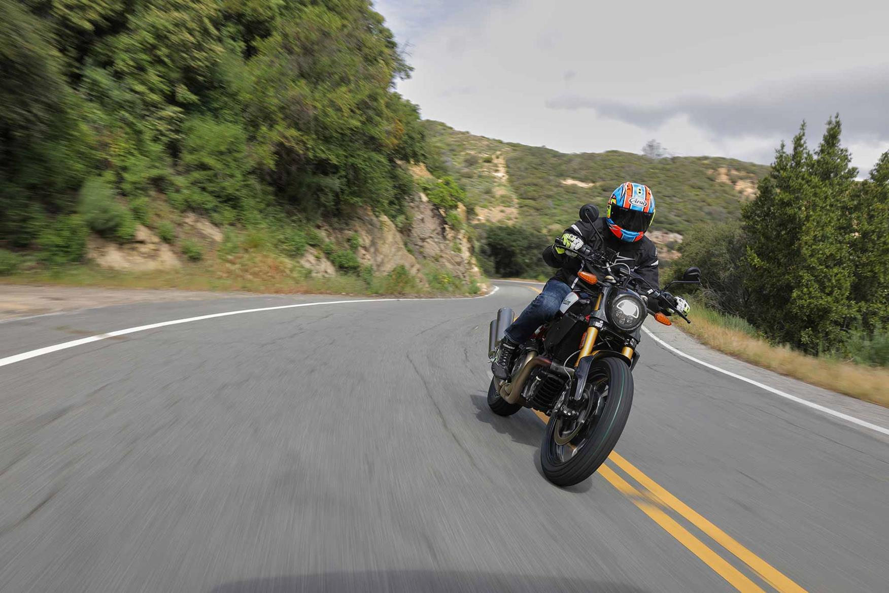 Riding the Indian FTR 1200 S