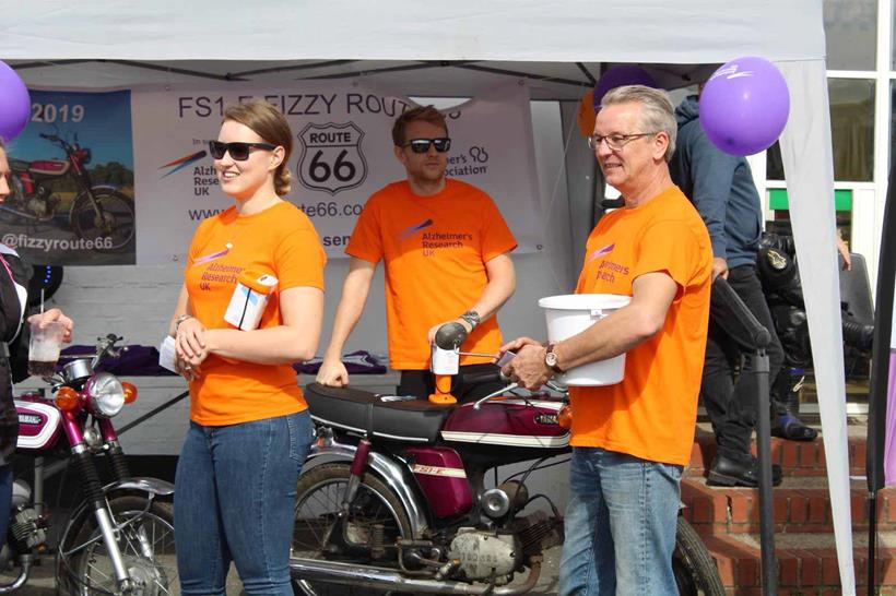 The team have raised money at various events