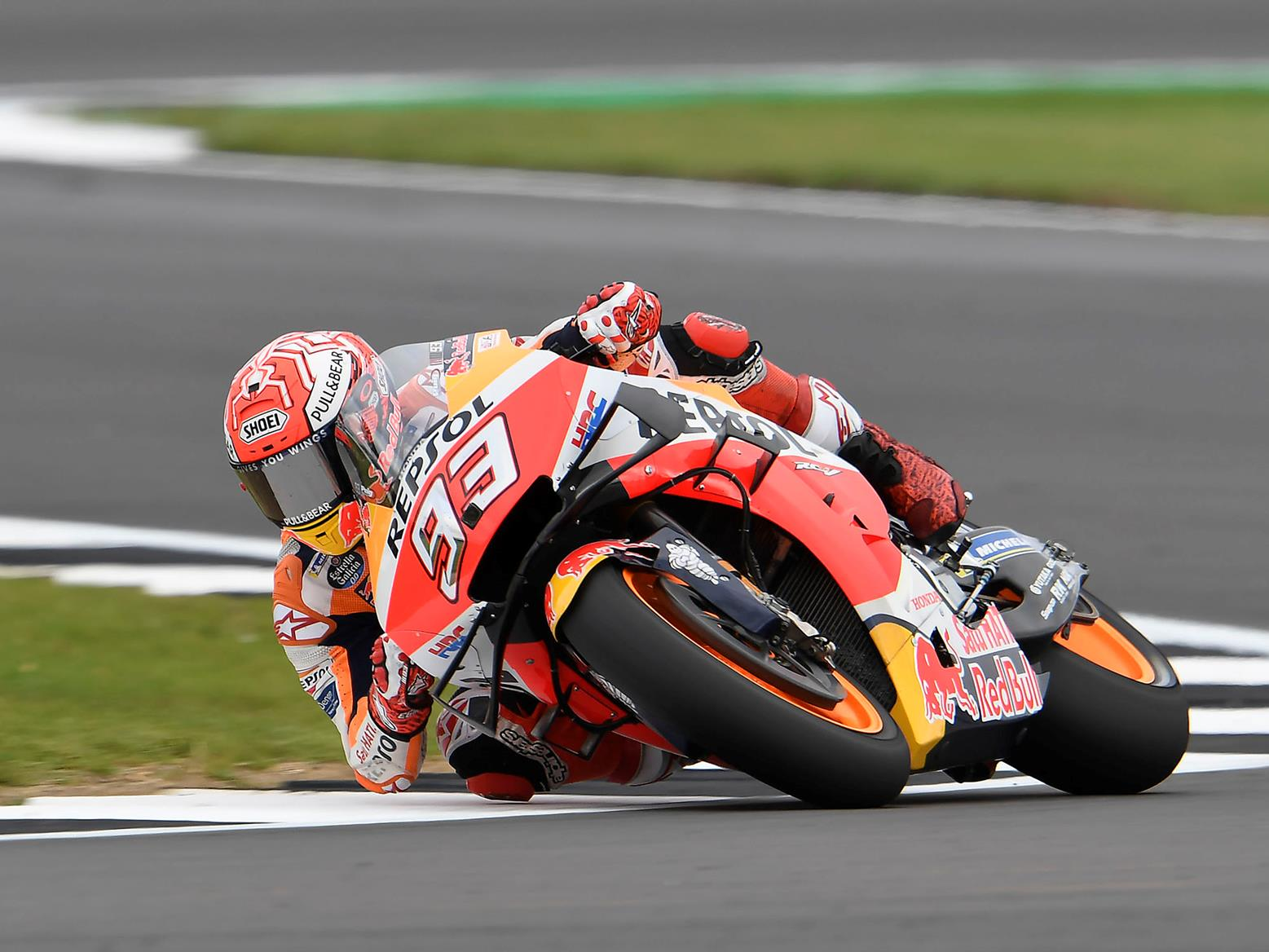 Marc Marquez tops FP4 at Silverstone