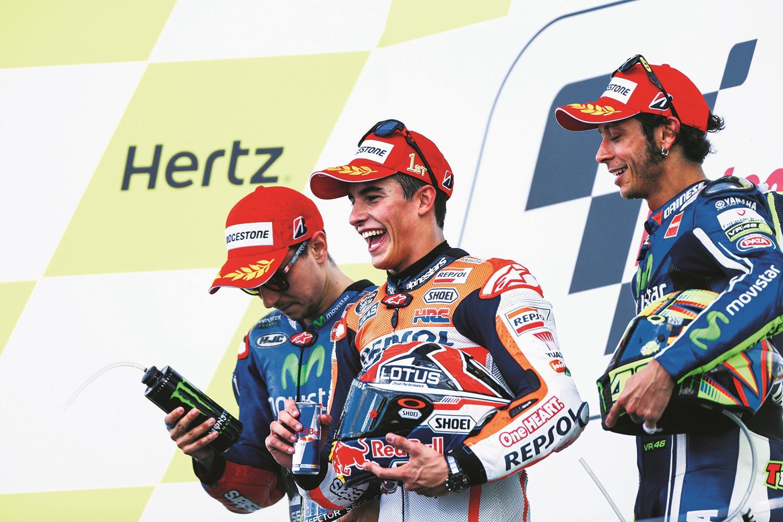 Marquez wins 2014 Silverstone MotoGP