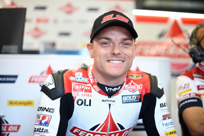 British Moto2 rider Sam Lowes