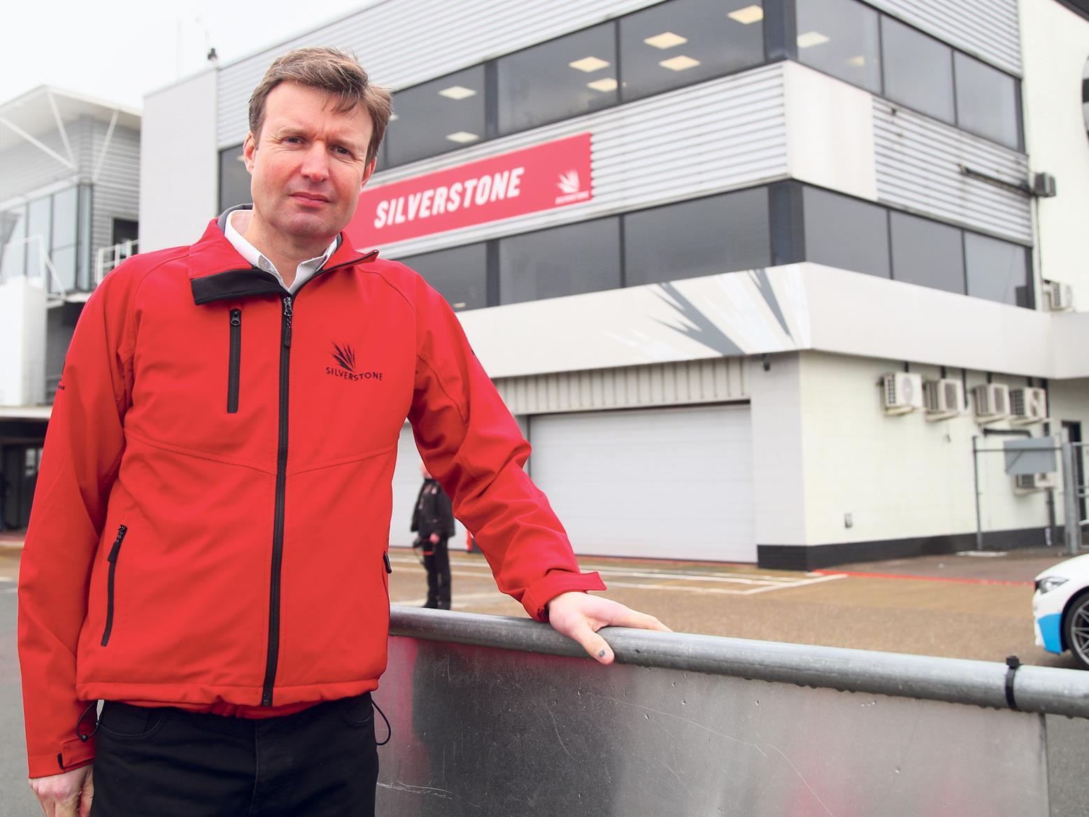 Silverstone Managing Director, Stuart Pringle
