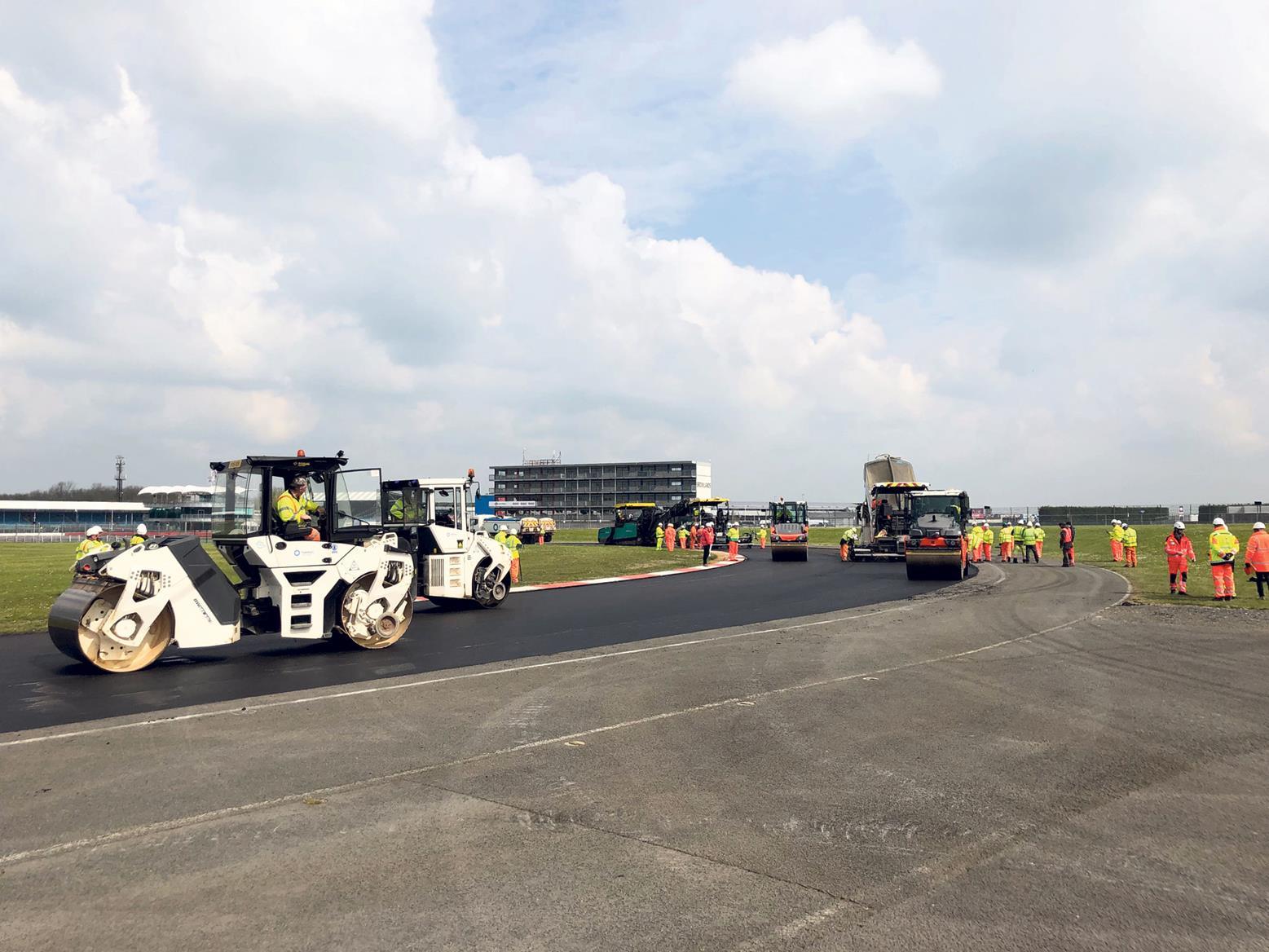 Resurfacing work will begin at Silverstone in June 2019