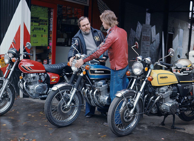 Honda CB750 being sold
