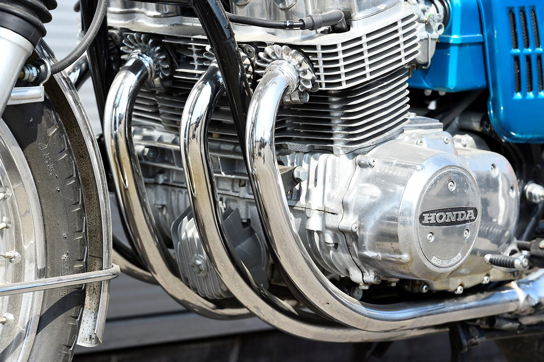 Honda CB750 4-into-4 exhausts