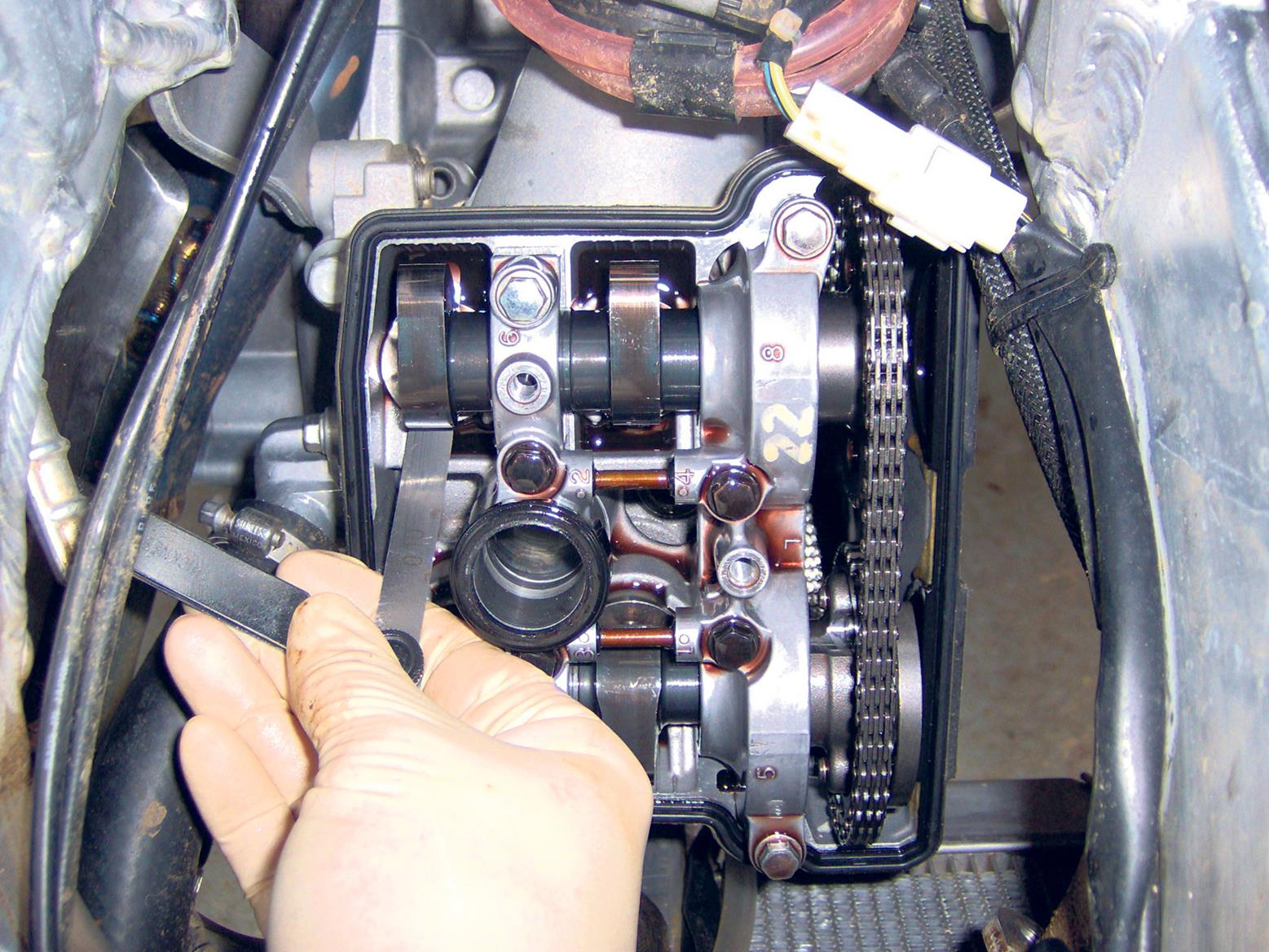 Variable ticking could be your valve clearances