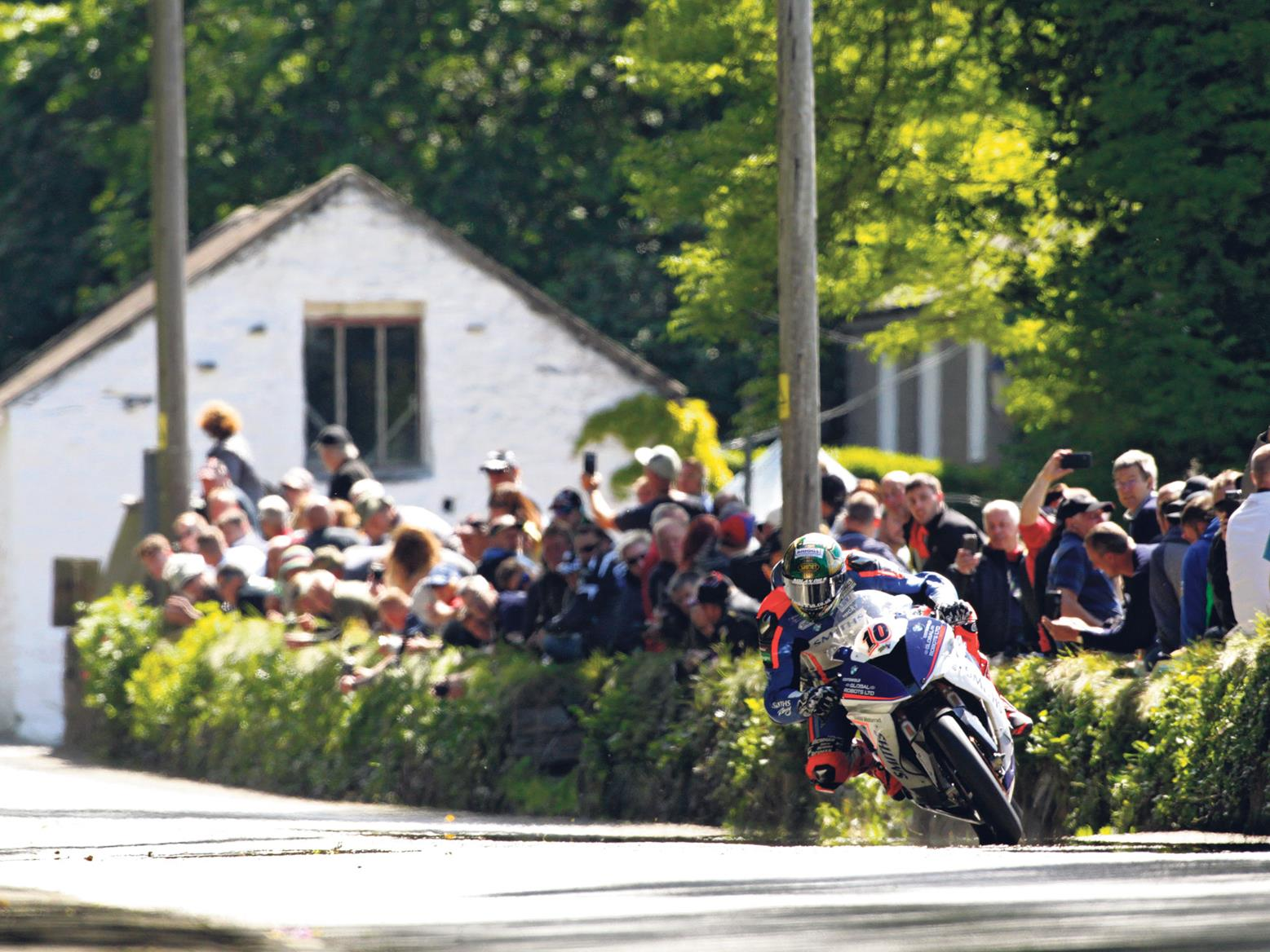Peter Hickman at Gorse Lea