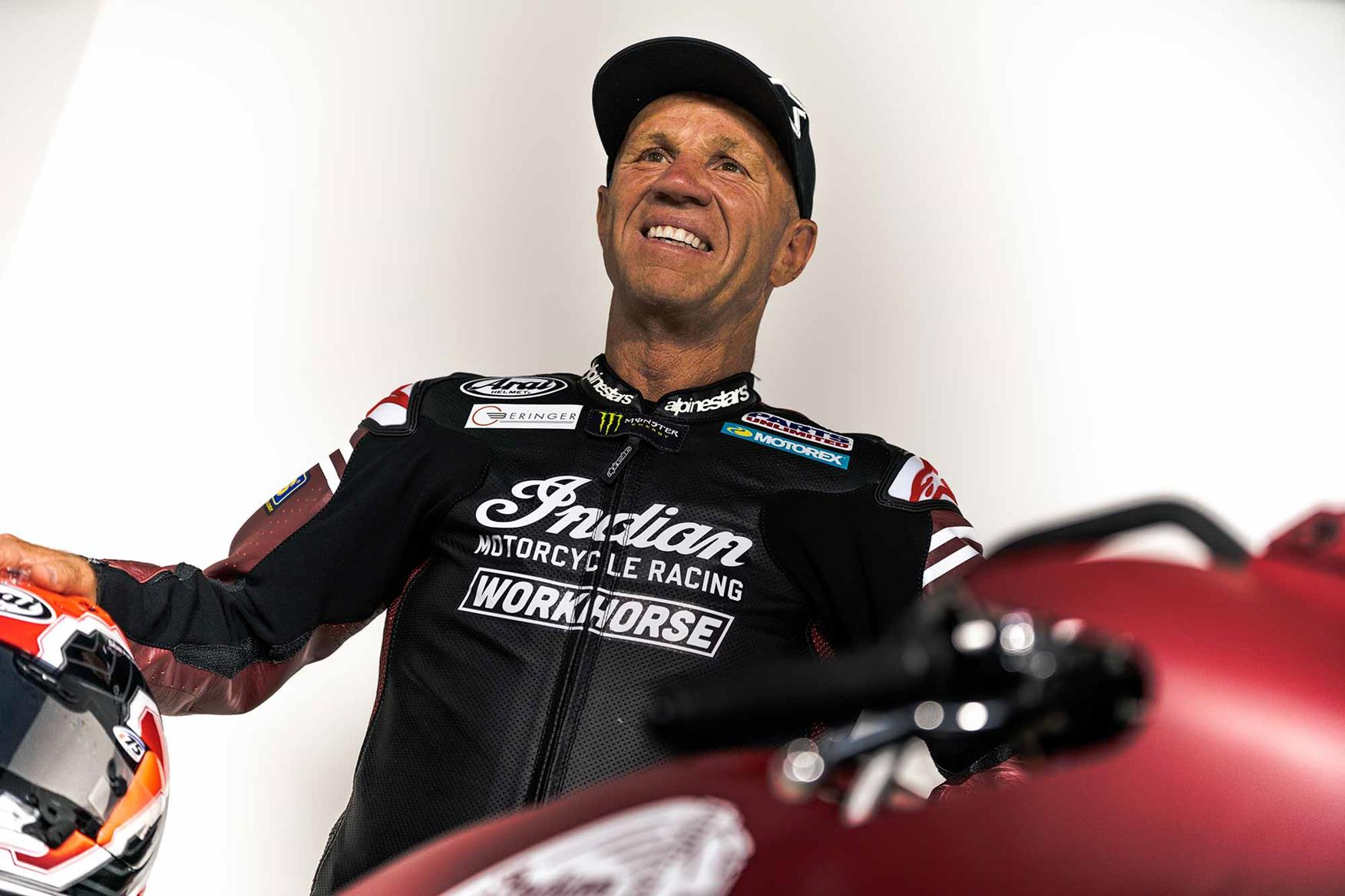 Randy Mamola will race the bike