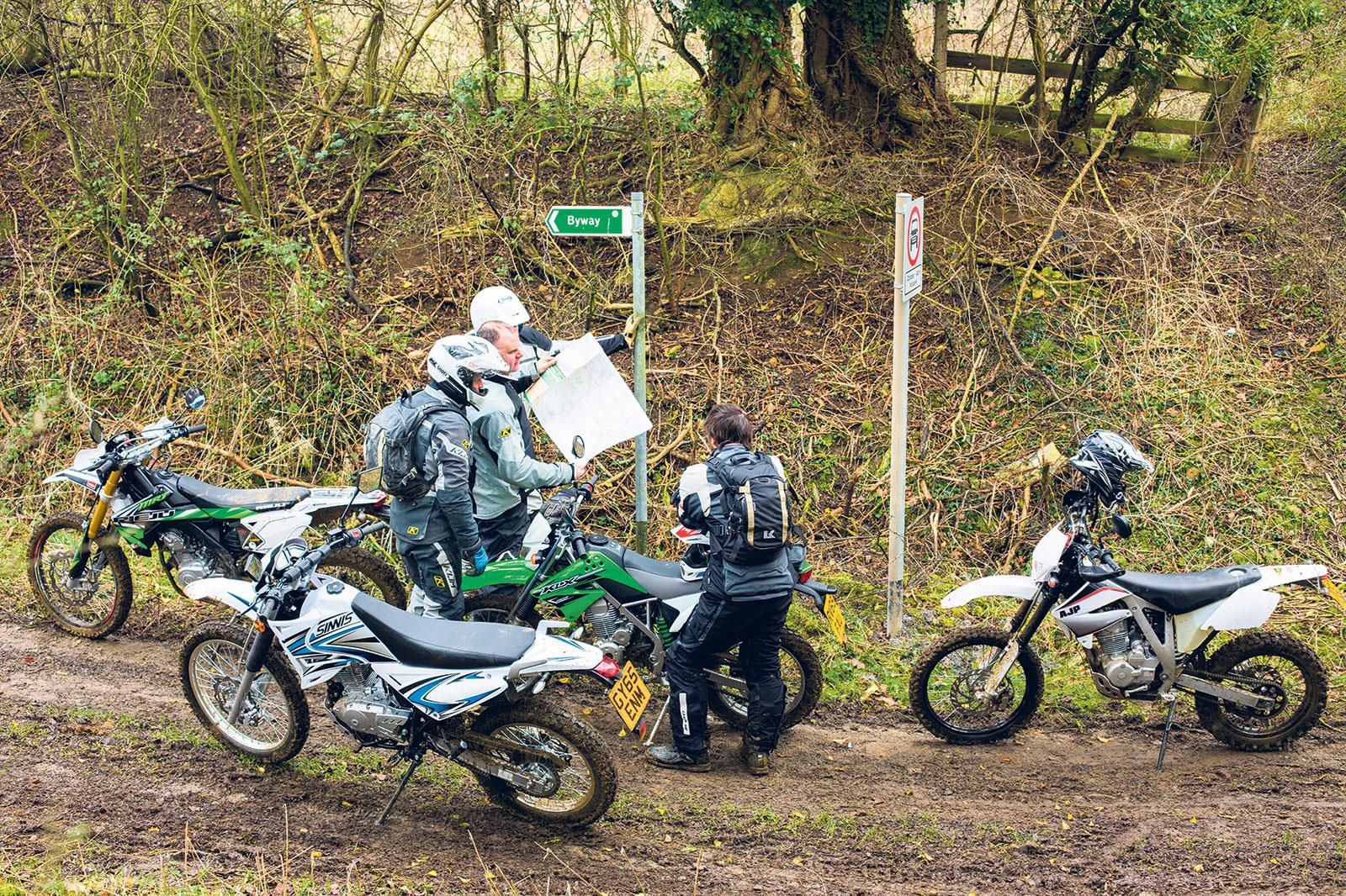 The TRF has lots of information about where you can ride your motorbike off road