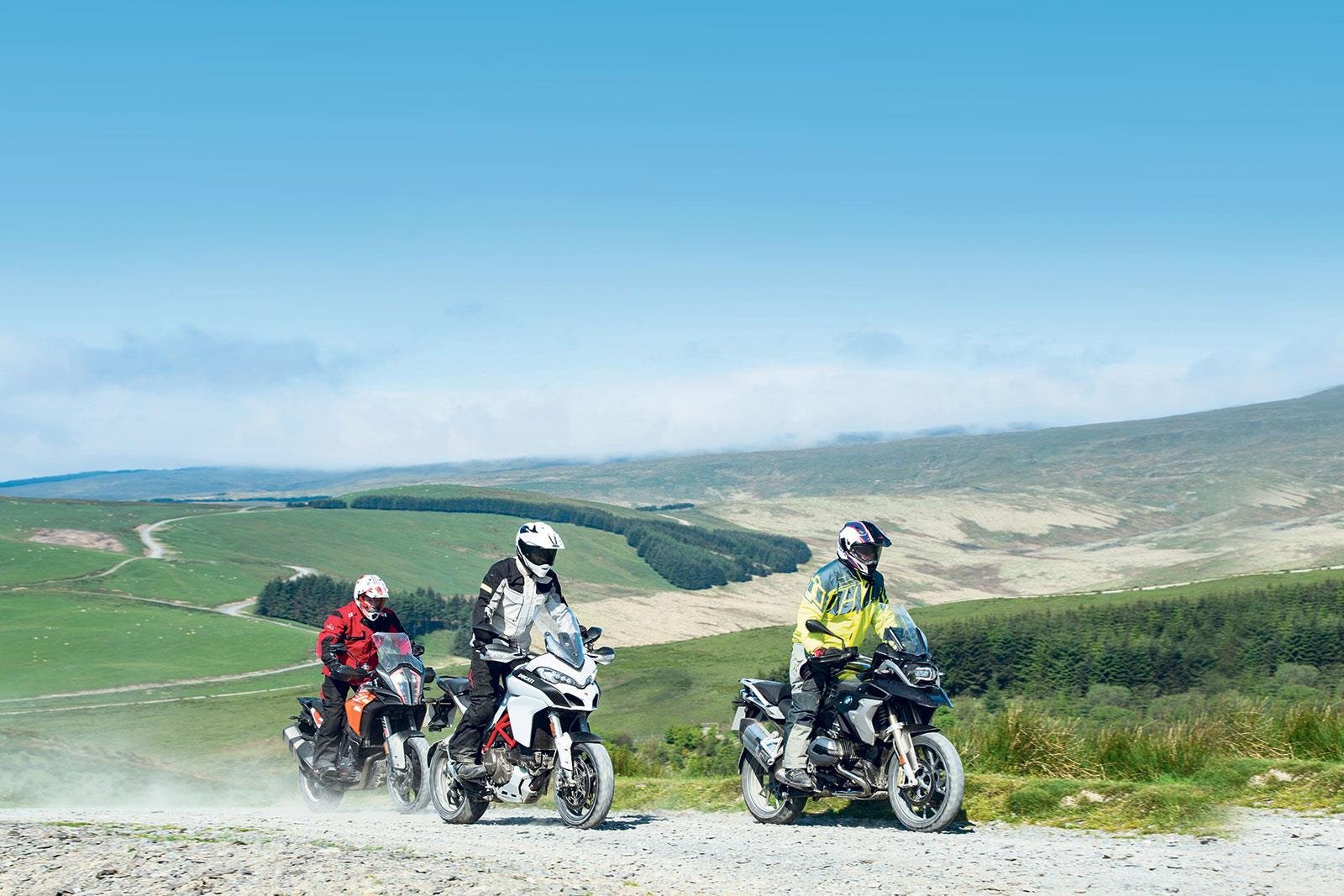 An off-road riding school is a great way to get extra skills and experience