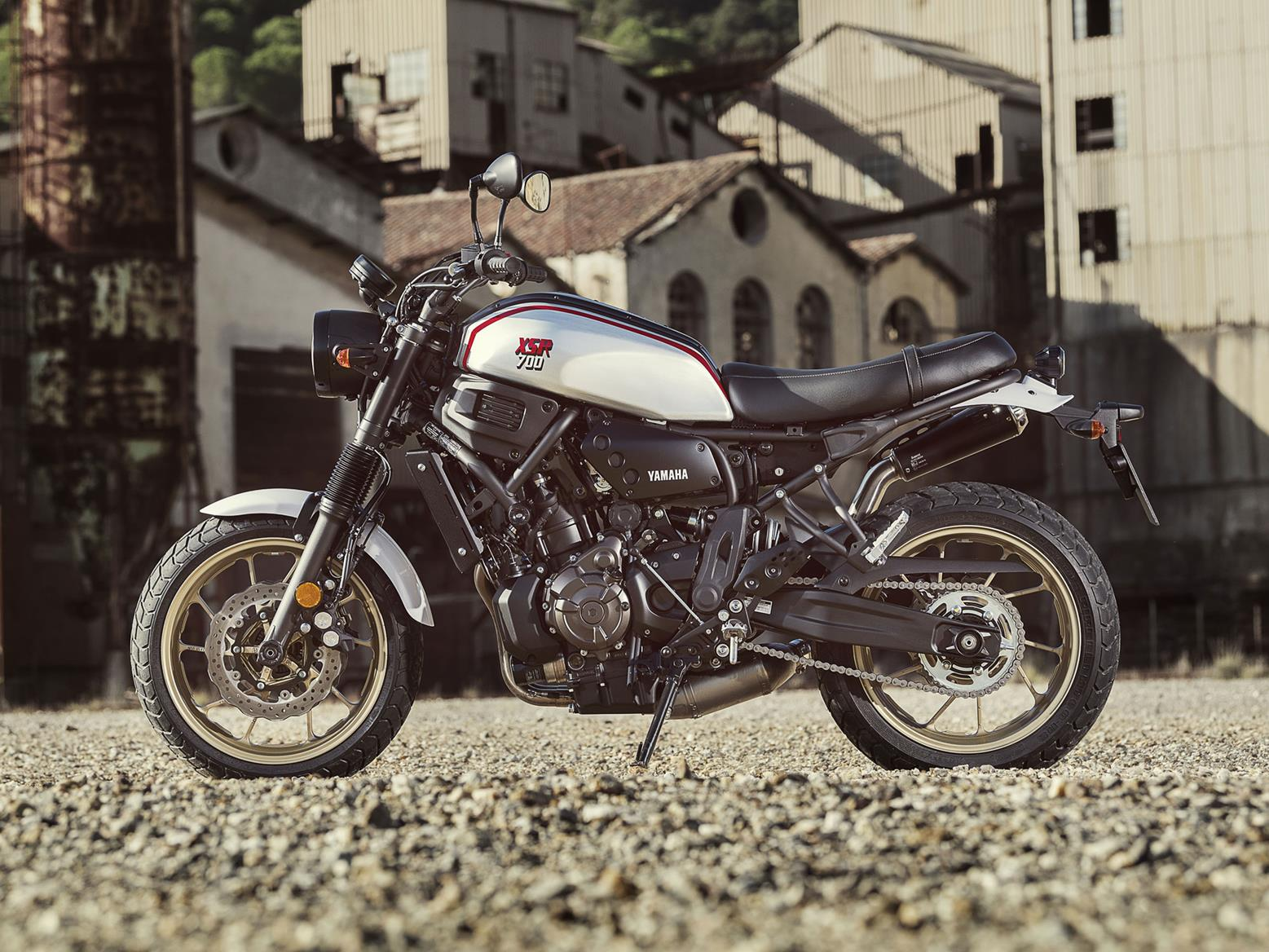 Yamaha XSR XTribute side profile