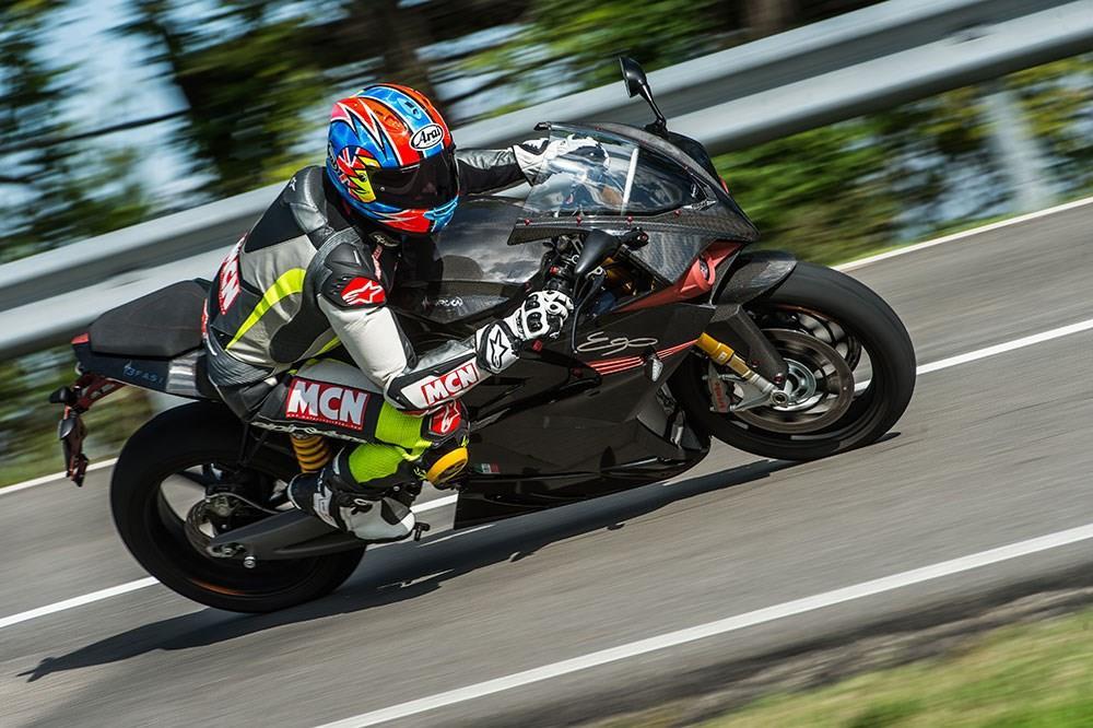 MCN tests Energica Ego electric motorbike