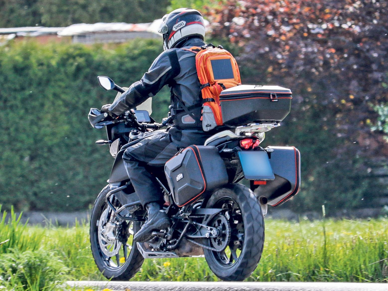 KTM 390 Adventure spied in testing