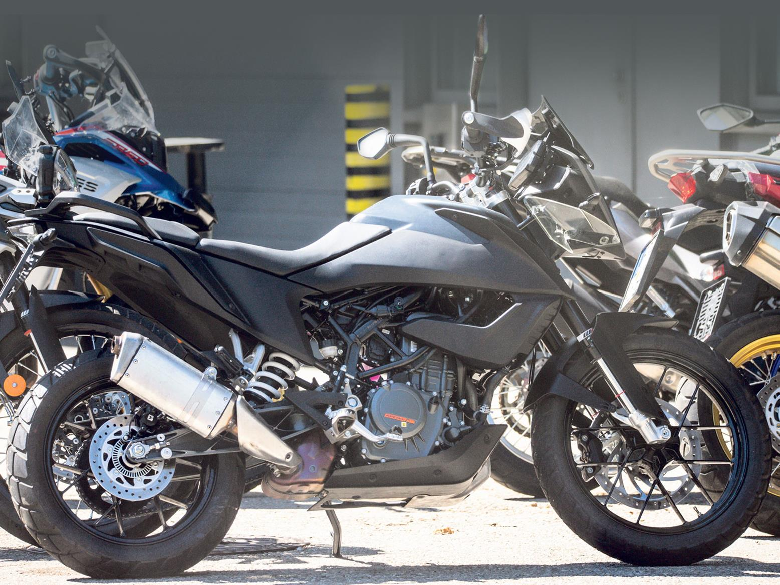 KTM 390 Adventure spotted nearly ready