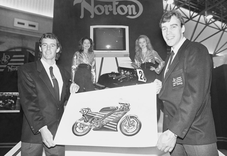 Steve Spray (left) and Trevor Nation