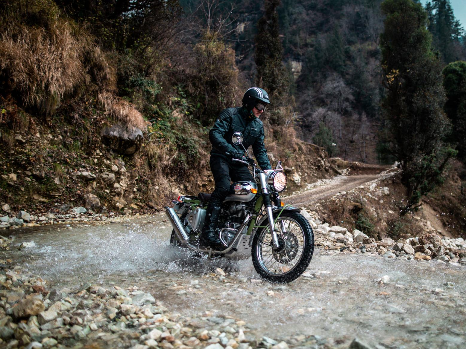 Off-road Royal Enfield Bullet Trials Works Replica