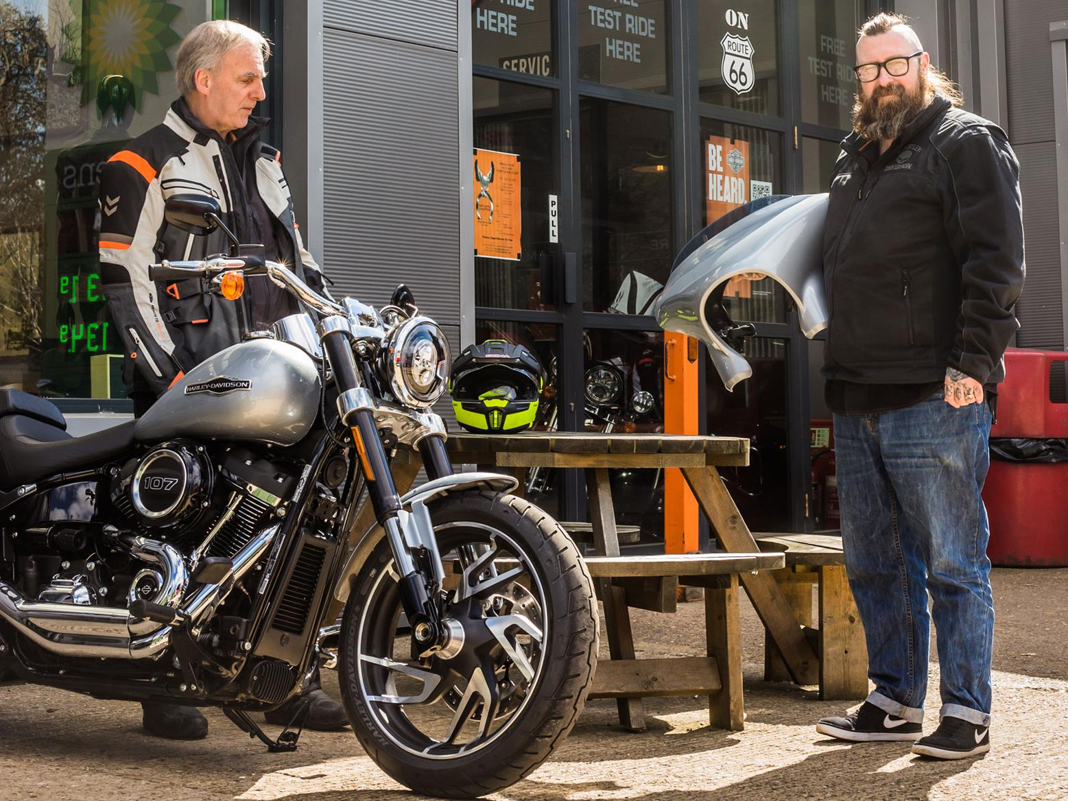 A Harley-Davidson may be a different experience to what you expect