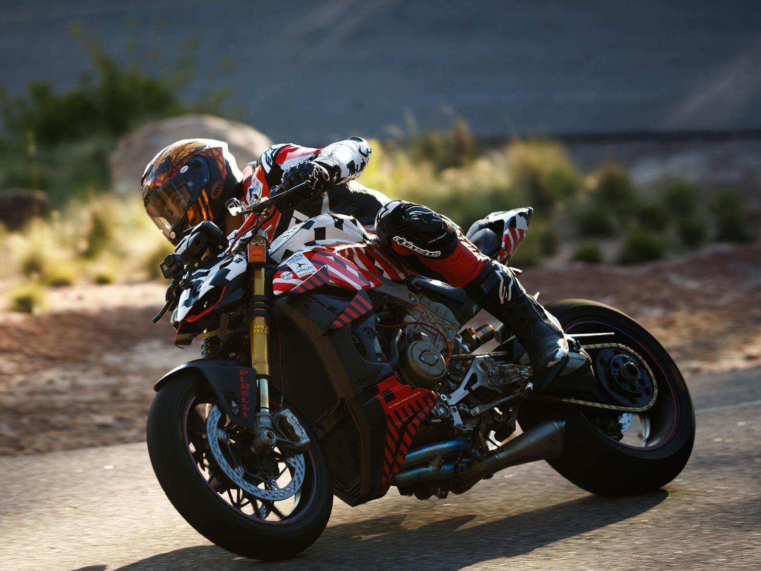 Ducati Streetfighter V4 at Pikes Peak