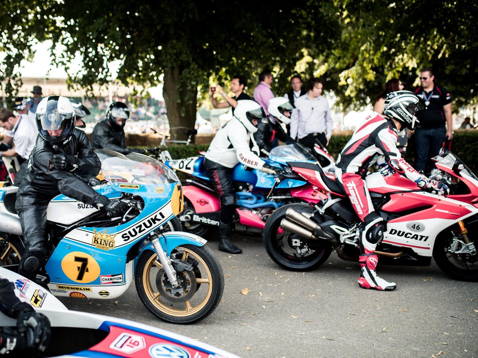 It's not just Honda motorcycles at the Festival of Speed. Image credit: Stephanie O' Callaghan/Goodwood