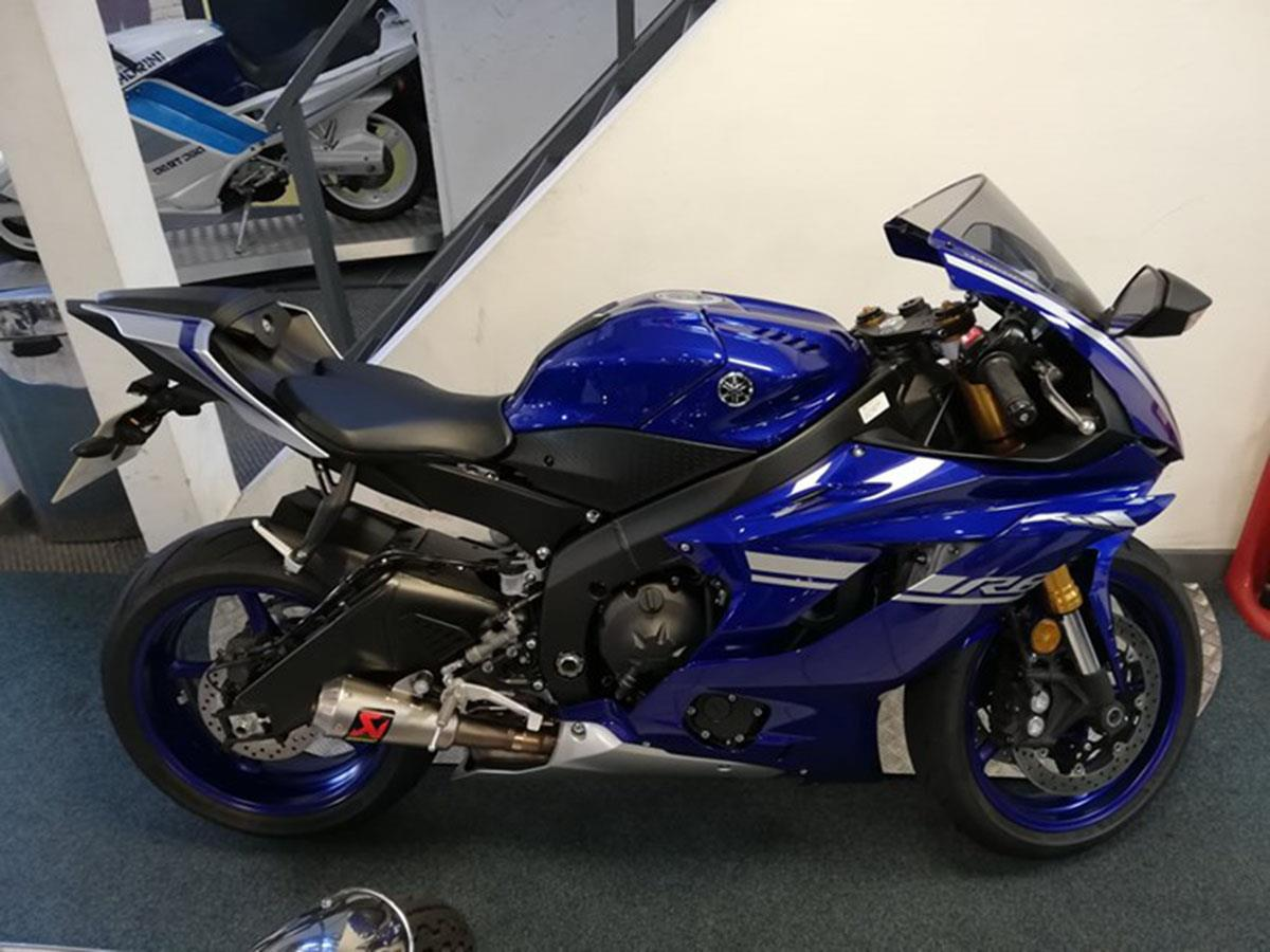 2017 Yamaha R6 for sale