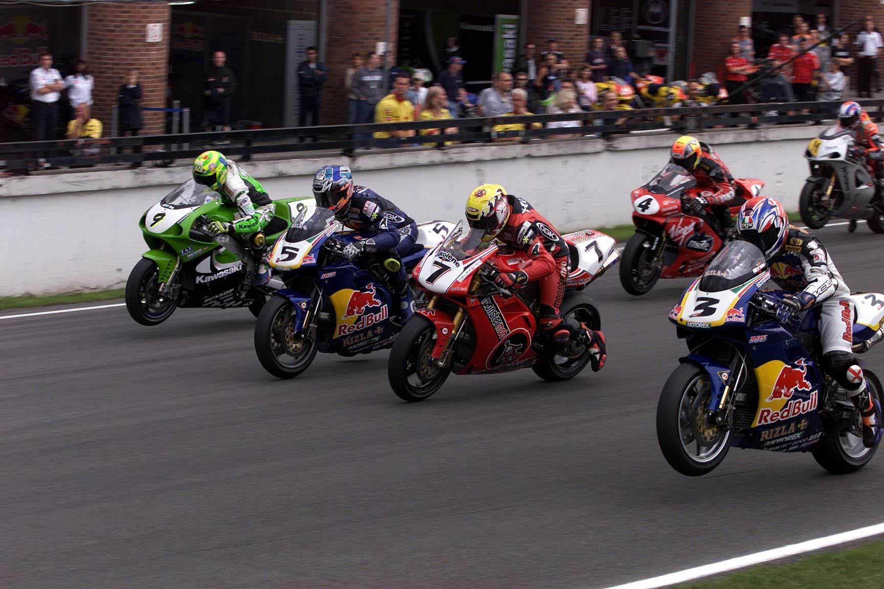 A classic BSB race start