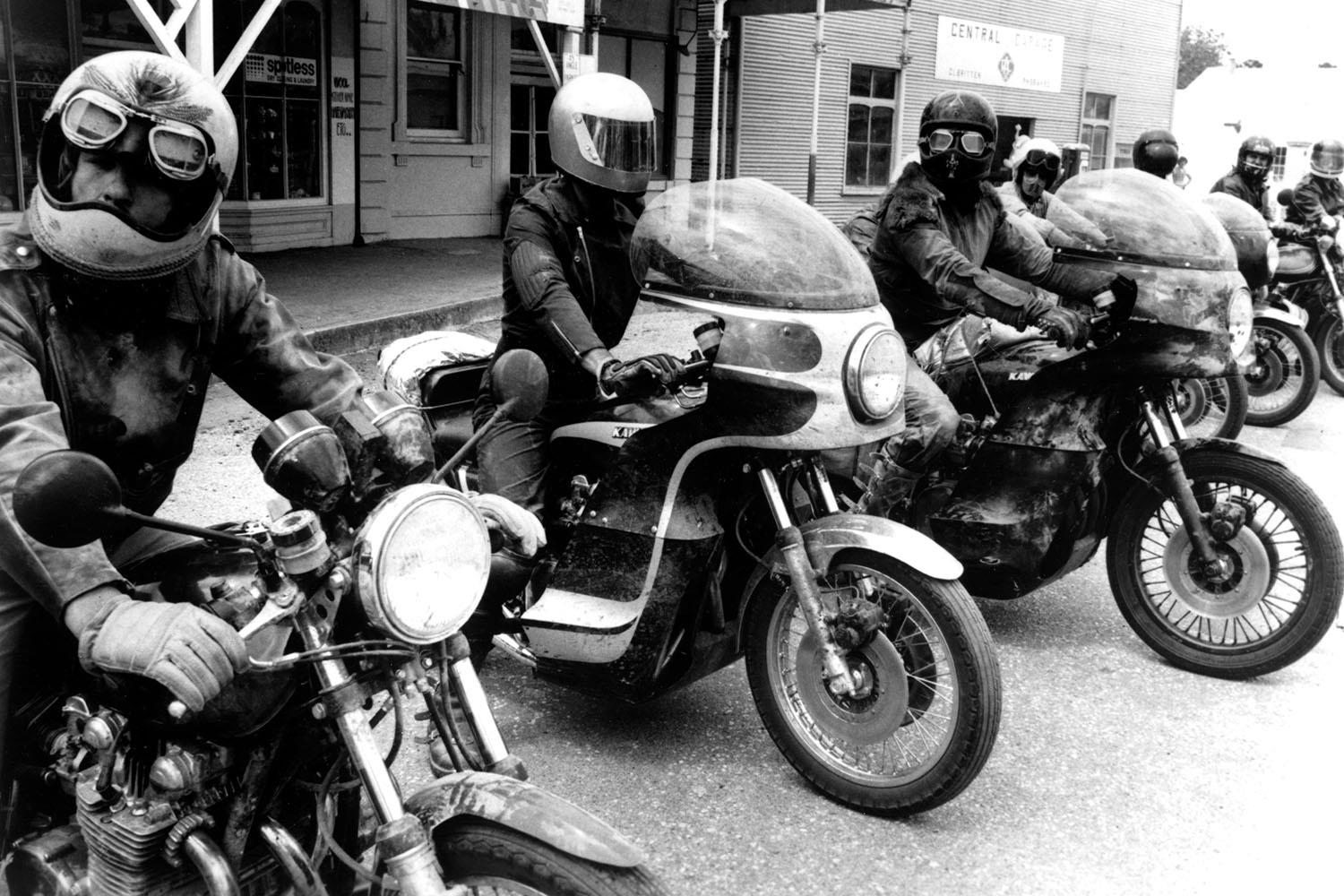A lot of the riding in Mad Max was performed by Vigilante bike club members