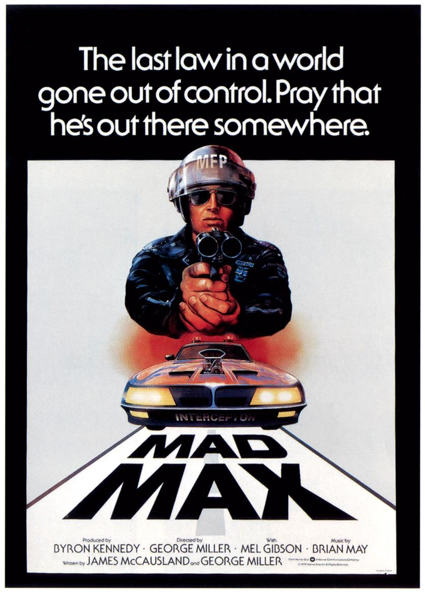 Original Mad Max film poster